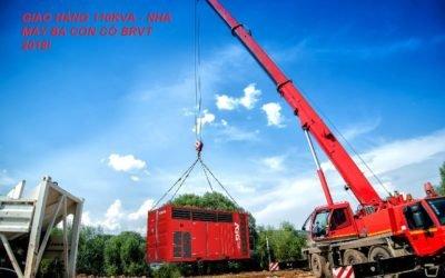 Delivery 110KVA – Ba con cò Factory BRVT 2018