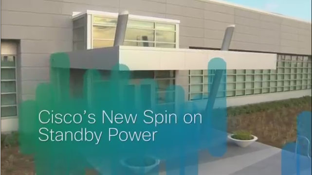 Dynamic Rotary UPS at Cisco's Allen TX Data Center